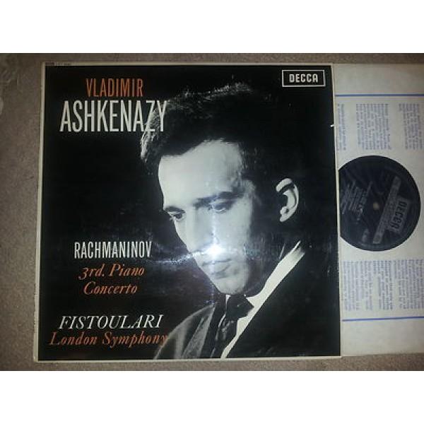 Rachmaninov 3rd Piano Concerto LP