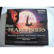 Bizet - The Pearl Fishers highlights Opera in English - Brad Cohen + Booklet