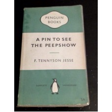 Penguin Crime 877 Pin to See the Peepshow Jesse Tennyson 1952 1st Edition Green