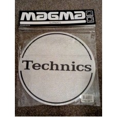 Technics Slipmats Silver Black Outbreak (pair)