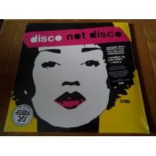 "Disco Not Disco (Leftfield Disco Classics From The New York Underground) 3x12"""