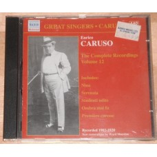 Enrico Caruso - Complete Recordings, Vol 12