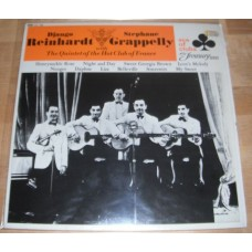 Django Reinhardt & Stephane Grappelly With The Quintet Of The Hot Club Of France