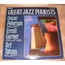 Oscar Peterson / Erroll Garner / Art Tatum ‎– Great Jazz Pianists