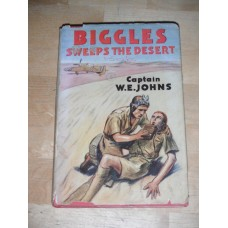 Biggles Sweeps the Desert - Captain WE Johns 3rd 1950