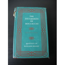 The Decameron of Giovanni Boccaccio The Second Five Days Folio Society 1955