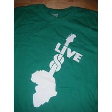 Live 8 - T-shirt XL Green  2nd July 2005 Hyde Park London