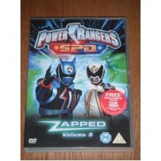 Power Rangers S.P.D.: Volume 5