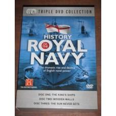 History of the Royal Navy (3xDVD)