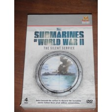The Submarines of World War II (4 Disc)