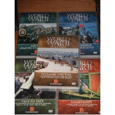 World War II In Colour - 5 DVDs