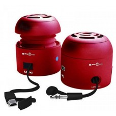 Chill Pill Mobile Speakers Red