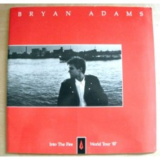 Bryan Adams into the Fire World Tour 87 Booklet Programme
