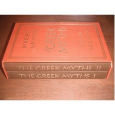 The Greek Myths - Robert Graves - Folio Society Volumes 1 and 2 - Book with slipcase