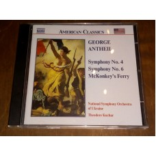 George Antheil - Symphonies Nos. 4 And 6 - McKonkey's Ferry - Theodore Kuchar
