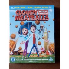 Cloudy With a Chance of Meatballs Combi Pack (Blu-Ray + DVD)