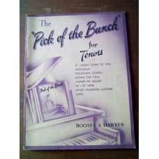 The Pick of the Bunch for Tenors - sheet music