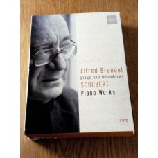 Alfred Brendel Plays & Introduces Late Schubert Piano Works (5xDVD)