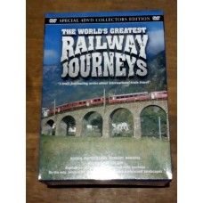 The Worlds Greatest Railway Journeys (4xDVD)