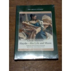 Great Masters - Haydn, His Life and Music - Great Courses (2xDVD + Course Book)