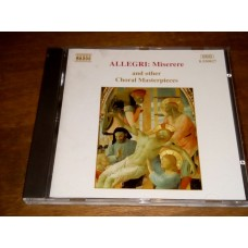 Allegri - Miserere and Other Choral Masterpieces