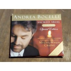 Andrea Bocelli - Sacred Arias Special Edition (CD + DVD)