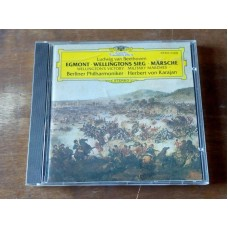 "Beethoven  ""Egmont"" - Wellington's Victory Military Marches - Karajan"