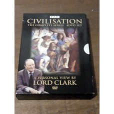 Civilisation - Complete Series - A Personal View by Lord Clark (4xDVD)