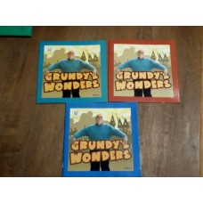 Grundy's Wonders  Series 1-3 Booklets Tyne Tees TV