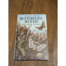 Vintage Ladybird Book of Butterflies Moths and other Insects Series 536 S Manning 1965