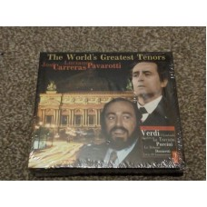 The World's Greatest Tenors Luciano Pavarotti and Jose Carreras (2xCD)