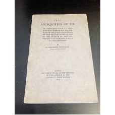1929 Antiquities Of Ur - WOOLLEY, C. Leonard