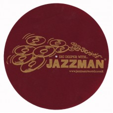 Jazzman Slipmats (PAIR) Maroon and Gold 2013