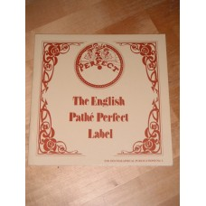 The English pathe perfect label - Arthur Badrock