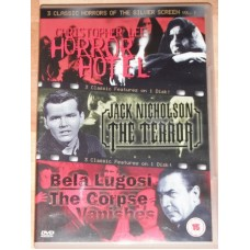 3 Classic Horrors Of The Silver Screen 1 - Horror Hotel / The Terror / The Corpse Vanishes