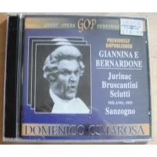 Giannina E Bernardone - Sciutti Sanzogno - Domenico Cimarosa (2xCD)