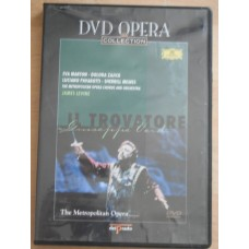 DVD Opera Collection -  Verdi Il Trovatore - James Levine