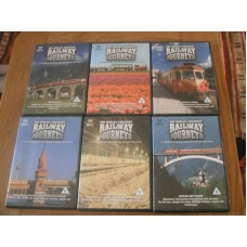 The Worlds Greatest Railway Journeys (6xDVD)