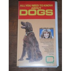 All you need to know about dogs with Lesley Judd - Video Cassette VHS