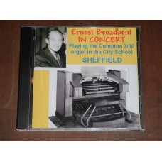 Ernest Broadbent in Concert - Compton 3/10 organ Sheffield City School