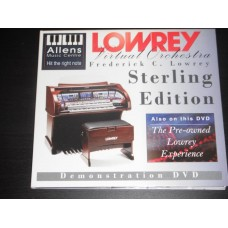 Lowrey Home Organ Virtual Orchestra Sterling Edition Demonstration DVD