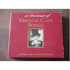 A Portrait Of French Cafe Songs (2xCD)