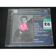 Chopin Recordings 1916 - 1927  - Benno Moiseiwitsch
