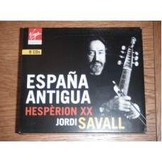 Spanish Music Anthologie (Espana Antigua) - Hespèrion XX - Jordi Savall (8xCD)