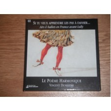 Airs & Ballets En France Avant Lully - Le Poeme Harmonique  - Vincent Dumestre (3xCD)