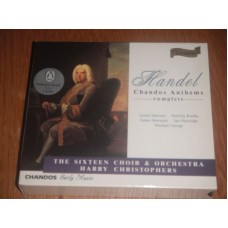 Handel: Chandos Anthems Complete - Sixteen Choir Harry Christophers (4xCD)