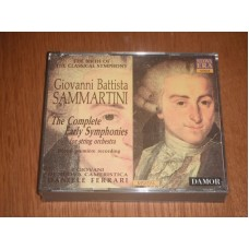 The Complete Early Symphonies for String Orchestra - Battista Sammartini (3xCD)