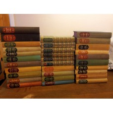 Collection of 32 Companion Book Club Books in Different Colours