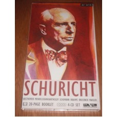 Carl Schuricht Conducts (4xCD + Booklet Boxset)