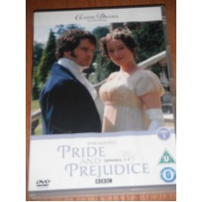 Pride and Prejudice Episodes 1-6 (2xDVD) Jane Austens